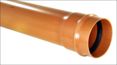 canos PVC rede coletora esgoto