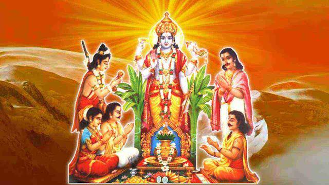 Satyanarayan Vrat Katha in Sanskrit