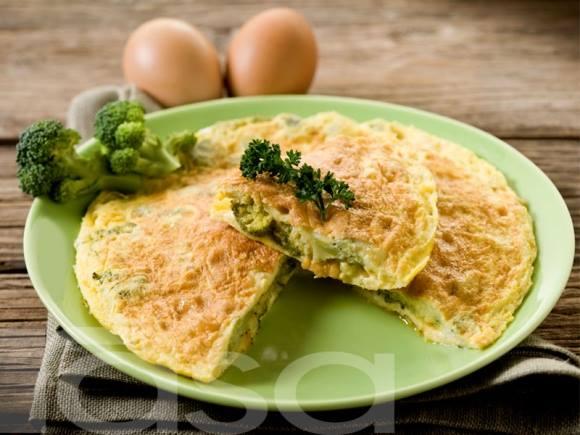 resepi telur dadar brokoli
