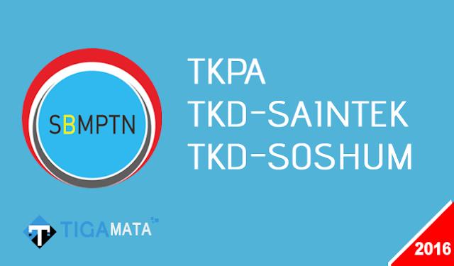 Download Naskah Soal SBMPTN Tahun 2016 (TKPA, SAINTEK, SOSHUM)