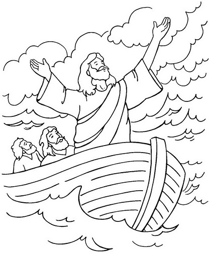 bible coloring pages for kids - 600×739
