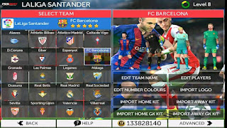 FTS Mod PES17 v2 by Rudy Apk + Data