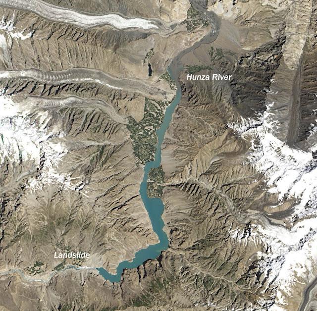 Hunza River Landslide
