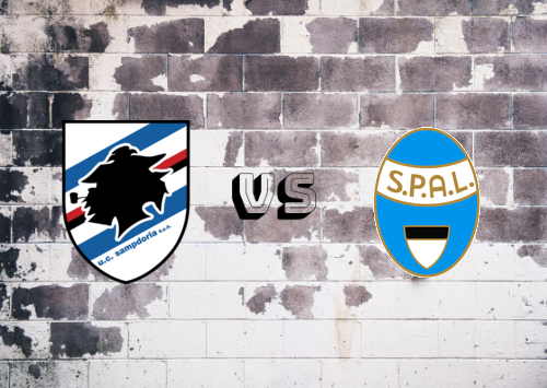 Sampdoria vs SPAL  Resumen