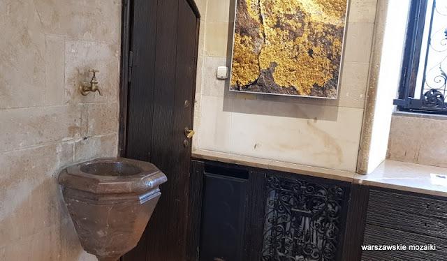 Warszawa Warsaw profesor Bohdan Pniewski aleja na skarpie 27 architektura modernizm piaskowiec marmur willa masońska muzeum ziemi