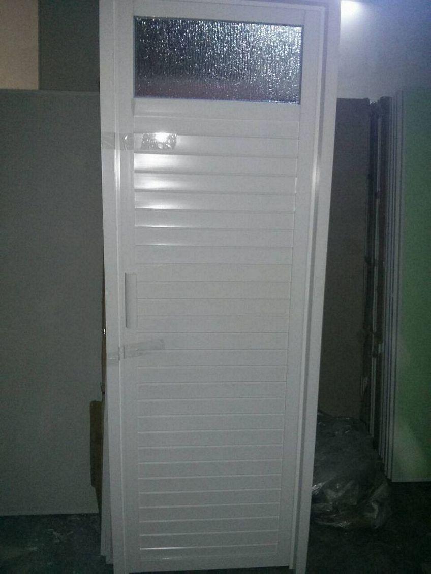pintu aluminium putih 4
