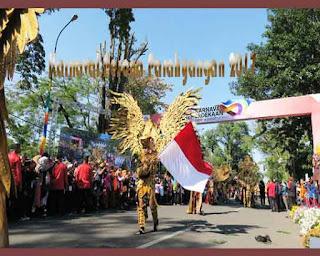 Kemeriahan Karnaval Pesona Parahyangan 2017