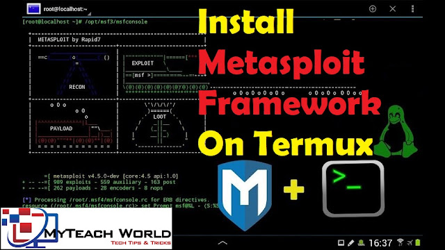 How to Install Metasploit Framework in Termux Without Root | Installing MSFconsole In Android 2020