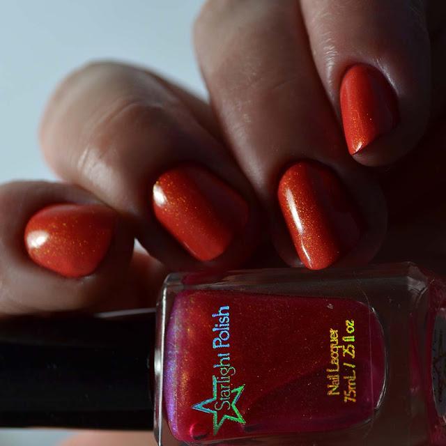coral unicorn pee nail polish