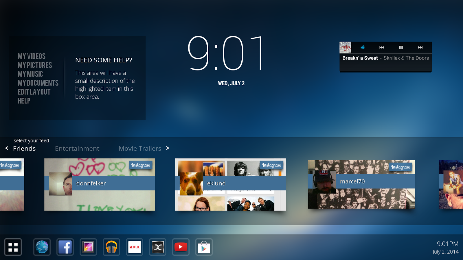Android Tv Box Launcher