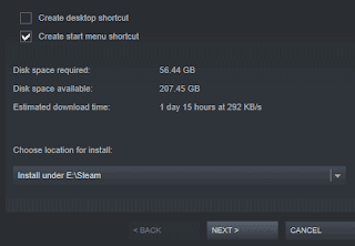 How to let steam discover existing game files without downloading them?