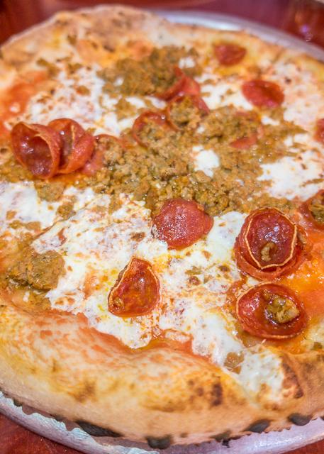 Pizza - Via Napoli - Epcot Walt Disney World