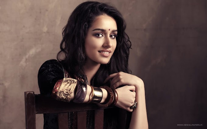 Bollywood Actress Shraddha Kapoor HD Wallpaper