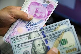 سعر صرف الليرة التركية مقابل العملات الرئيسية الأثنين 2/11/2020