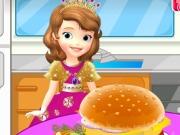 لعبة طبخ  صوفيا  تحب طهي همبرغر