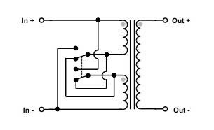 VinylSavor: MC step up transformer with selectable gain