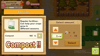 Cara Mendapatkan Compost di Harvest Moon: Light of Hope