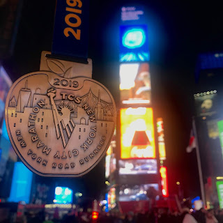 TCS New York City Marathon 2019 medaille