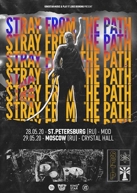 Stray from the Path в России