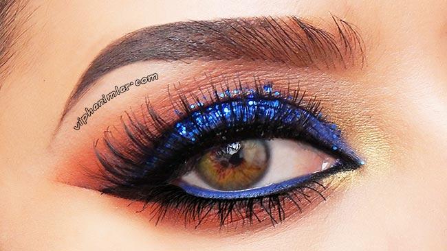 Parlak Kobalt Mavi Göz Farı - viphanimlar.com