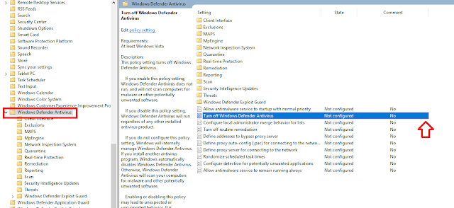 Windows defender tutorials