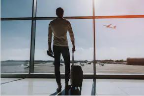 السفر جواً هو شكل من أشكال السفر