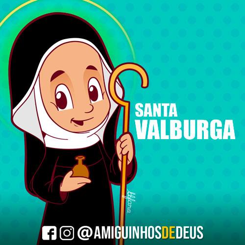 Santa Valburga desenho
