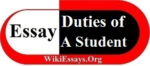 Essay on Duties of A Student
