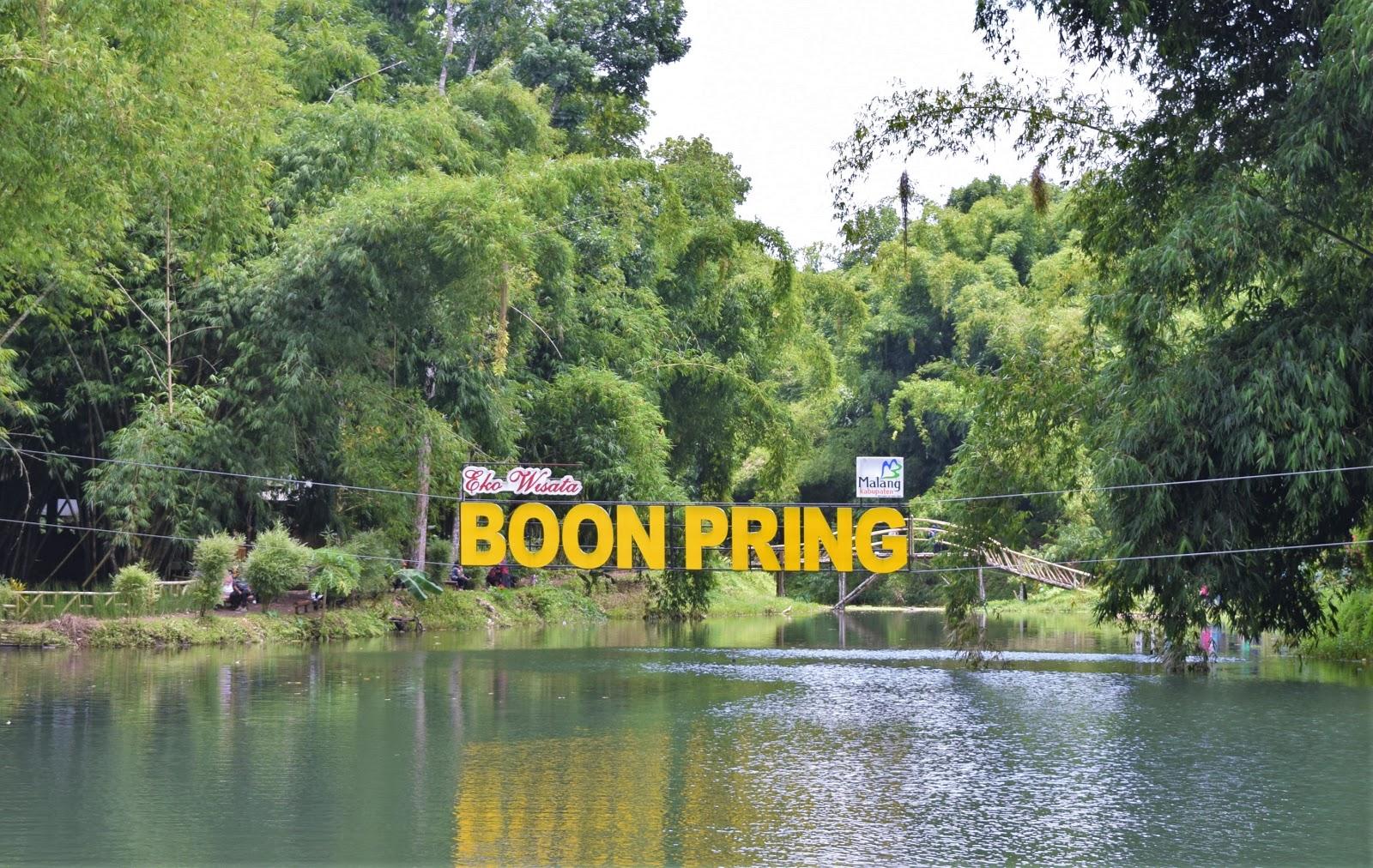 lukmanmohdluck: Boon Pring, Obyek Wisata yang Sedang Hits di Turen