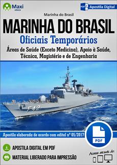 Apostila Concurso Marinha do Brasil 2018 Oficiais Temporários