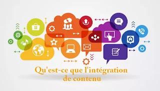 Qu'est-ce que l'intégration de contenu
