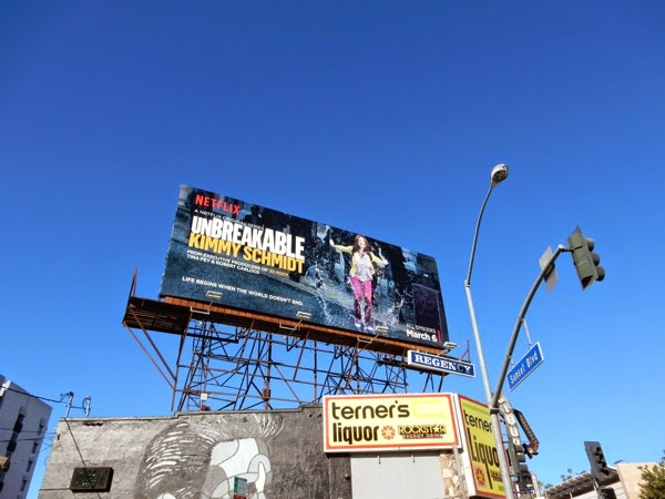 Unbreakable Kimmy Schmidt series premiere billboard