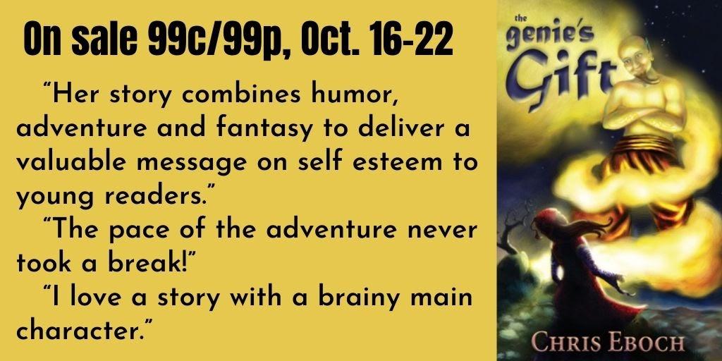 The Genie's Gift - #MGlit #fantasy w/mythology of The Arabian Nights - #99c sale!
