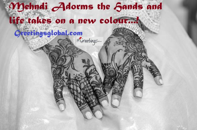 500+ Top Best mehndi Status, Quotes, Poetry, Shayari & Thoughts