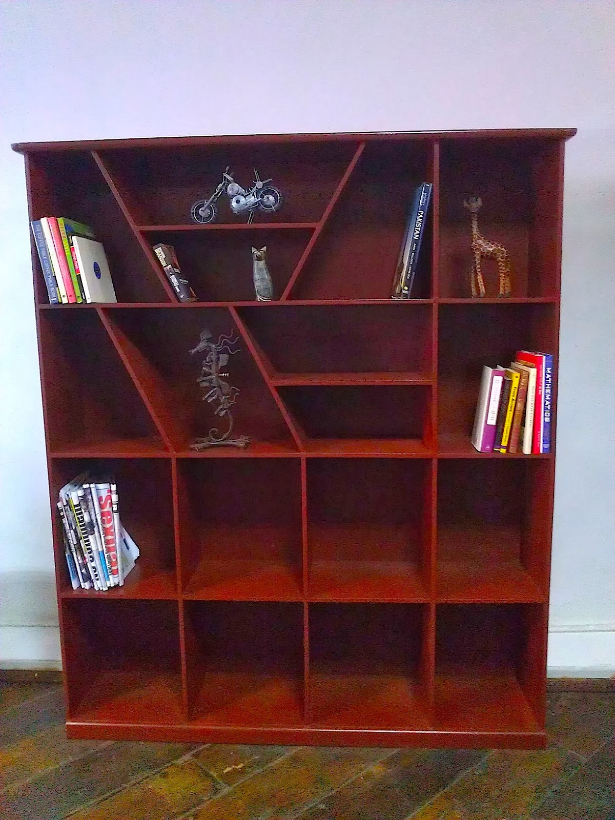 we travel not for trafficking alone my first three funky bookshelves - Funky Bookshelves