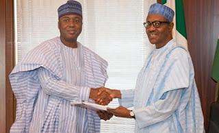 SGF, Magu: Buhari, Saraki in Closed-door Meeting
