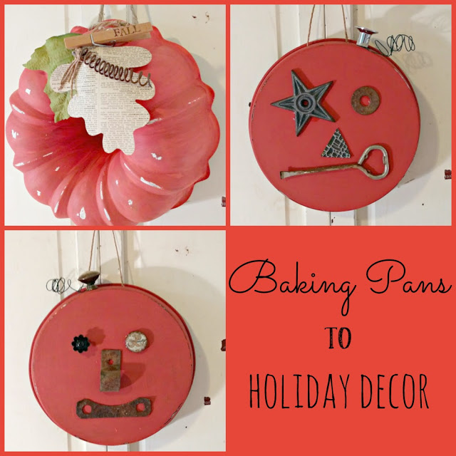 Trash to Treasure - Baking Pans to Holiday Decor