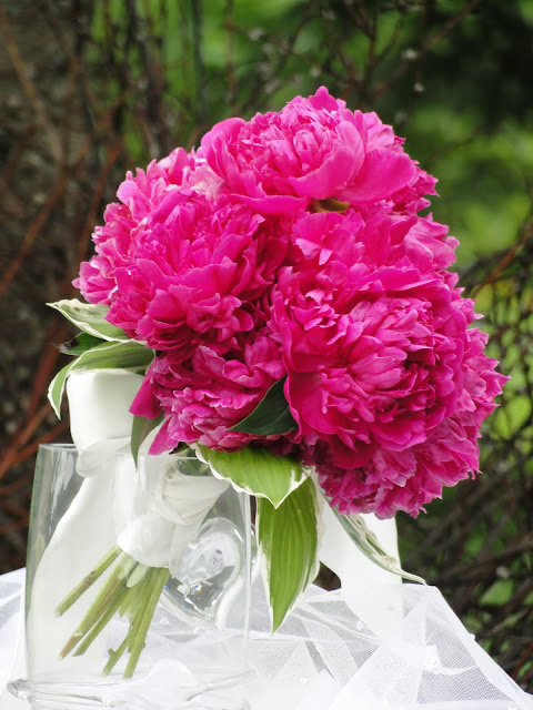 peony wedding bouquet The Camellia thunder Bay