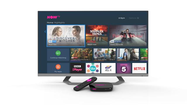 8. Now TV 4K Smart Box