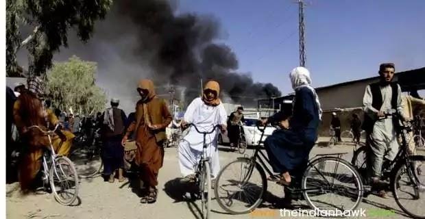 Biden Blamed for Huge US Failure As Taliban Reaches Gates of Kabul