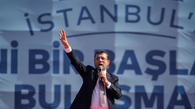 Ιμάμογλου σε Γερμανία: Υποστηρίξτε τη δημοκρατία στην Τουρκία