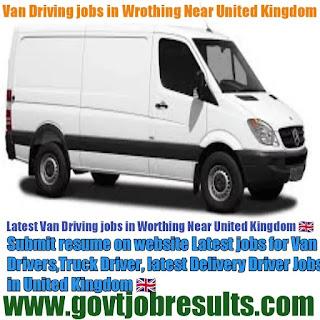 van driving jobs in worthing United Kingdom 2021-22
