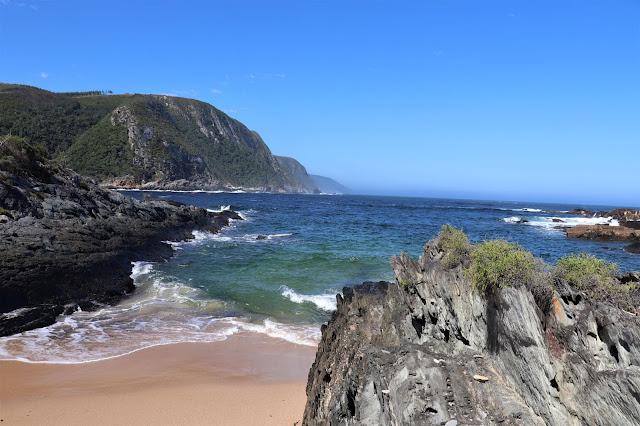 Indian Ocean at #Tsitsikamma National Park @SANParks #GardenRoute #SouthAfrica