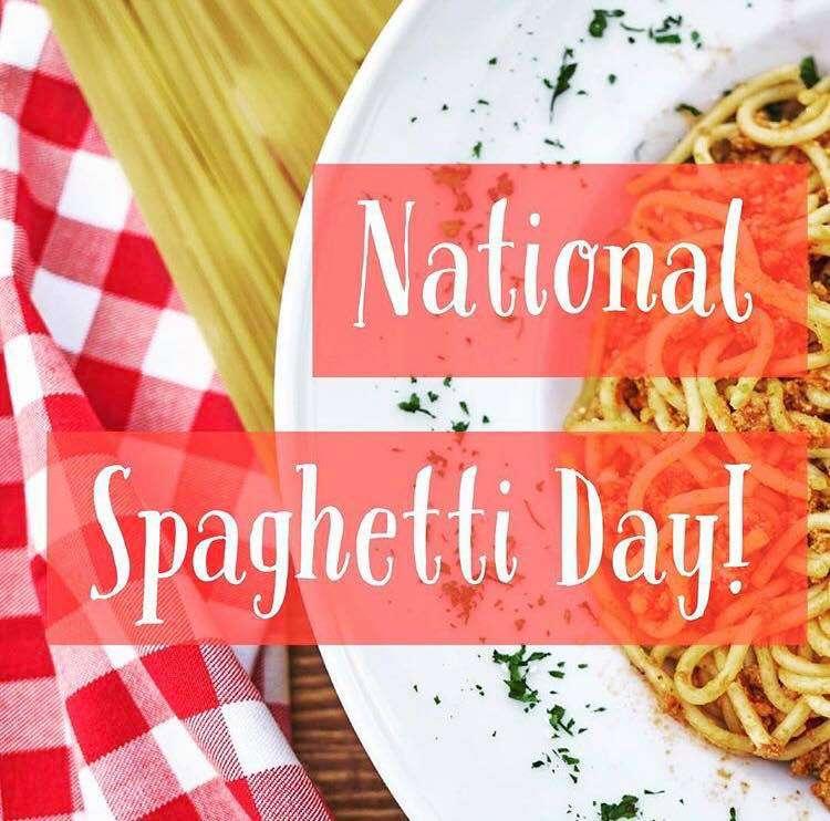 National Spaghetti Day Wishes Unique Image