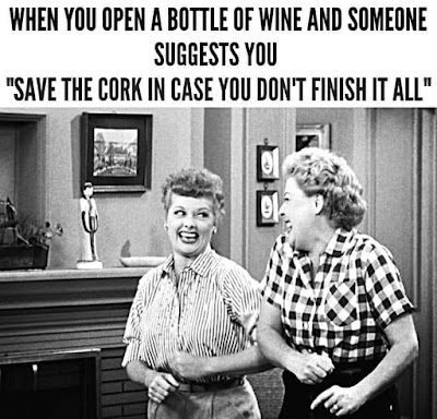 Save the cork..