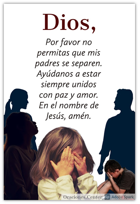 Oración por mis Padres para que NO se Separen