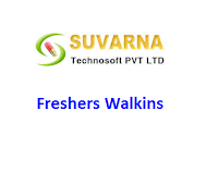 Suvarna Technosoft Hyderabad Walkins for Freshers