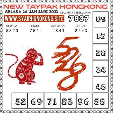 Prediksi Togel New Taypak Hongkong Selasa 26 Januari 2021