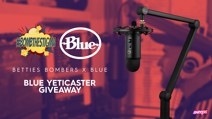 Sorteio de um Microfone Profissional Blue Yeticaster!
