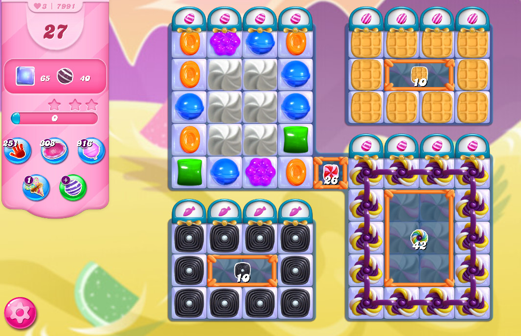Candy Crush Saga level 7991